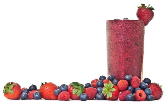 Berry power smoothie
