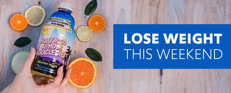 Lose Weight This Weekend with The Hollywood Diet Detox