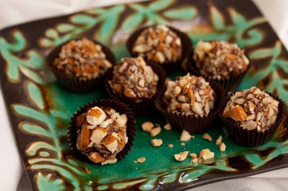 peanut butter fudge truffles
