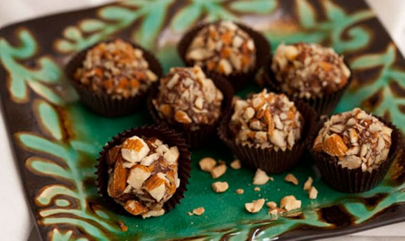 peanut butter fudge truffles