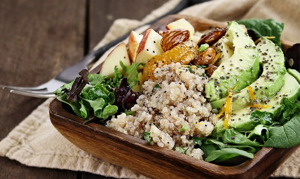 quinoa and avocado salad