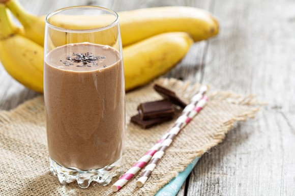 Nutrient rich chocolate smoothie