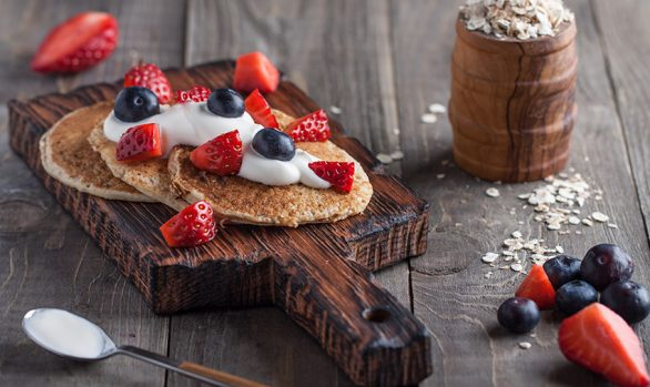 5-Minute Protein Pancakes