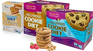 Hollywood Diet Cookie Diet and Wafers