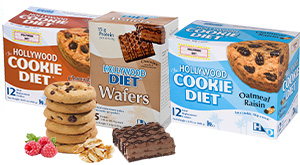 Hollywood Cookie Diet meal replacements