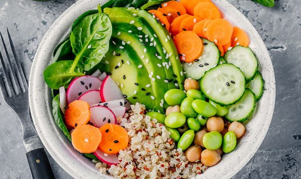 Vegetarian Grain Bowl