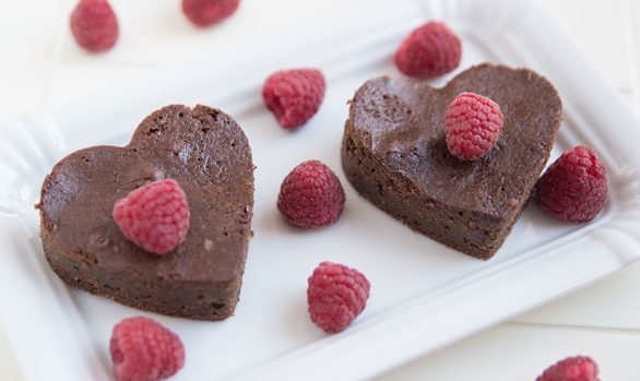 CHOCOLATE PROTEIN HEARTS