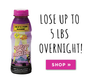 Lose up to 5 lbs overnight